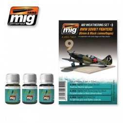 AMMO of MiG Soviet Fighters WWII (Green & Black camouflages)