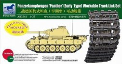 Bronco Panzerkampfwagen V Panther Early Tracks 1:35