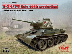 ICM T-34/76 (late 1943 production) 1:35