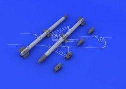 Eduard Brassin AIM-120C AMRAAM (2pcs) 1:48