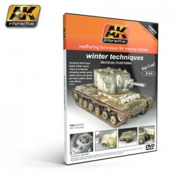 AK Interactive winter techniques DVD (PAL)