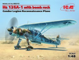 Henschel HS 126A-1 with bomb rack 1:48