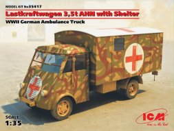 ICM Lastkraftwagen 3,5 t AHN, with Shelter 1:35