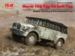 Horch 108 Typ 40 Soft Top 1:35