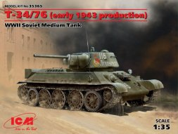 ICM T-34/76 (early 1943 production) 1:35