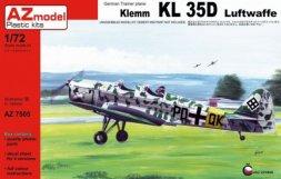 Klemm KL 35D Luftwaffe 1:72