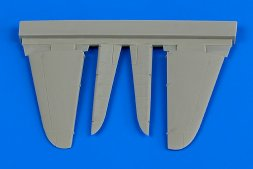 A6M2 Zero control surfaces for Tamiya 1:72