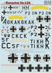 Print Scale Henschel Hs 126 1:72
