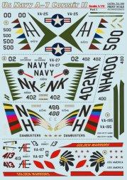 A-7 Corsair II Us NavyPart.1 1:72