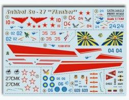Su-27 Flanker 1:144