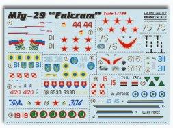 Print Scale Mig-29 Fulcrum 1:72
