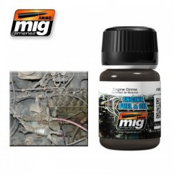 AMMO of MiG - Engine, Fuel & Oil (Engine grime) 35ml