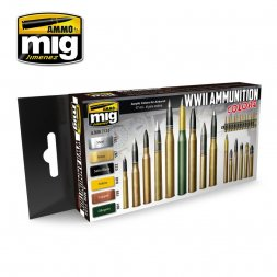 AMMO of MiG - Amminition colors Set WWII