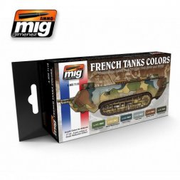 AMMO of MiG - French camouflage colors 1914-1940