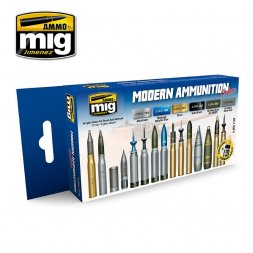 AMMO of MiG - Amminition colors Set Modern