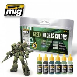 AMMO of MiG - Green Mechas colors