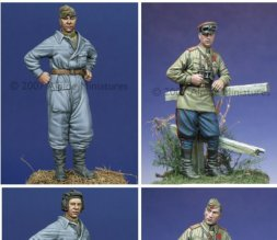 Alpine Russian Tank Crew Set. 1943-1945 1:35