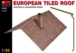 MiniArt European Tiled Roof 1:35