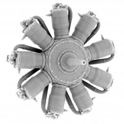 Small Stuff Oberursel Ur.II (110 hp) Engine 1:48