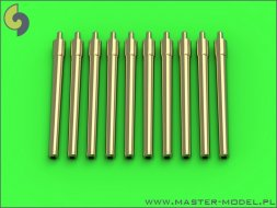 Master British 12/45 (30.5 cm) Mark X barrels (10pcs)  1:700