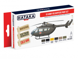 Hataka Hobby US Army Helicopters Paint Set