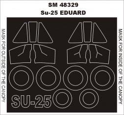 Montex Su-25K mini mask für KP/ Smer 1:48