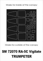 Montex RA-5C Vigilante mask for Trumpeter 1:72