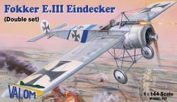 Fokker E.III Eindecker (Double set) 1:144