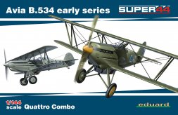 Eduard Avia B.534 early series QUATTRO COMBO 1:144