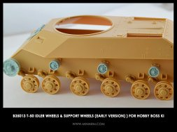 Miniarm T-50 Idler wheels & support wheels (early version) 1:35