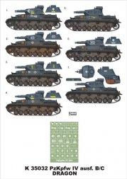 Montex PzKpfw.IV Ausf. B/C 1:35