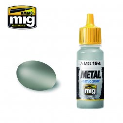 AMMO of MiG - 194 Matt Aluminium - 17ml