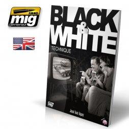 AMMO of MiG - Black & White Technique (English)