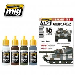 AMMO of MiG - British Camouflage colors 1988-1991 Berlin
