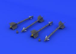 Eduard Brassin AIM-9D Sidewinder 1:48