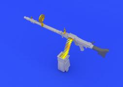 Eduard Brassin MG 34 German gun 1:35