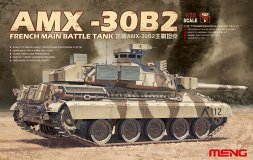 Meng AMX-30B2 French MBT 1:35