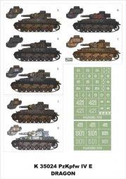Montex Pz.Kpfw.IV Ausf.E Super Mask 1:35