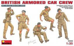 British Armored Car Crew WW II 1:35