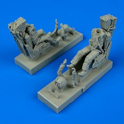 US Navy Pilot & Operator w/ ejection seats for F-14 1:48