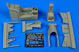 Aires F-106A Delta Dart cockpit set for Trumpeter 1:48