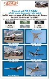 AKAN Russian Air Force - Tu-22M3, Tu-95, Tu-160
