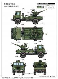 Trumpeter GaZ-66 Light Truck with ZU-23-2 1:35