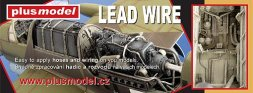 PlusModel Lead wire - Blei Draht 0.5mm