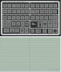 Eduard Mask Panzer Divisional Insignia 1940-45 1:35