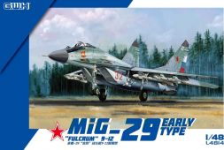 MiG-29 Fulcrum A 9-12 - Early 1:48