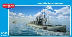 Mikro Mir British K-class submarine 1:350