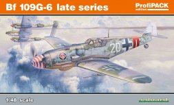 Bf 109G-6 late series - ProfiPACK 1:48