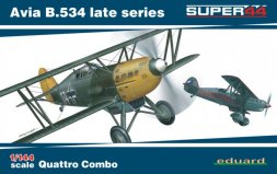 Eduard Avia B.534 late series Quattro Combo 1:144