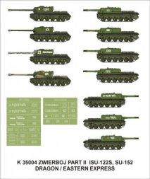 Montex ISU-122S, SU-152 Zwierboj Part II 1:35